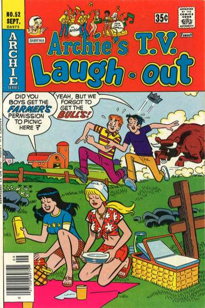 Archie's TV Laugh-Out #52 comic books for sale