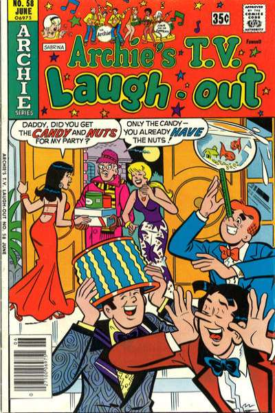 Archie's TV Laugh-Out #58 comic books for sale