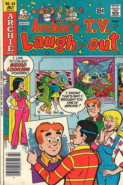 Archie's TV Laugh-Out #59 comic books for sale