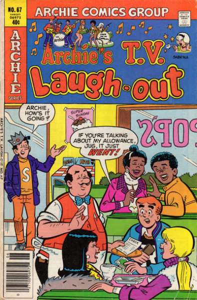 Archie's TV Laugh-Out #67 Comic Books - Covers, Scans, Photos  in Archie's TV Laugh-Out Comic Books - Covers, Scans, Gallery