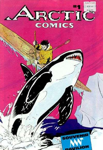 Arctic Comics #1 comic books for sale