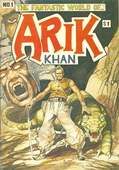 Arik Khan  comic books