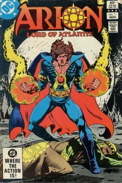 Arion: Lord of Atlantis #1 Comic Books - Covers, Scans, Photos  in Arion: Lord of Atlantis Comic Books - Covers, Scans, Gallery