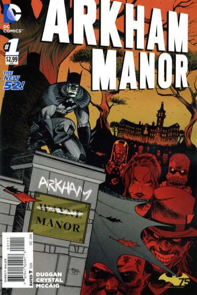 Arkham Manor Comic Books. Arkham Manor Comics.
