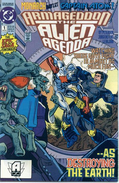 Armageddon: Alien Agenda #1 comic books for sale