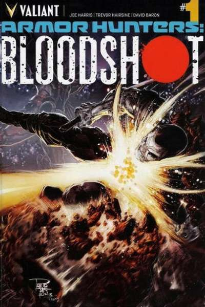Armor Hunters: Bloodshot Comic Books. Armor Hunters: Bloodshot Comics.