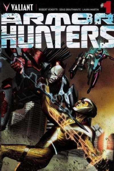 Armor Hunters # comic book complete sets Armor Hunters # comic books
