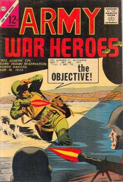Army War Heroes #2 Comic Books - Covers, Scans, Photos  in Army War Heroes Comic Books - Covers, Scans, Gallery