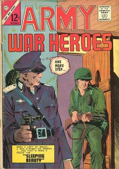 Army War Heroes #5 comic books - cover scans photos Army War Heroes #5 comic books - covers, picture gallery