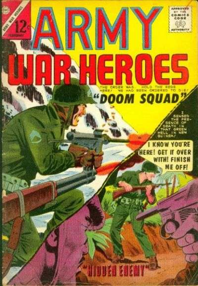 Army War Heroes #7 comic books for sale