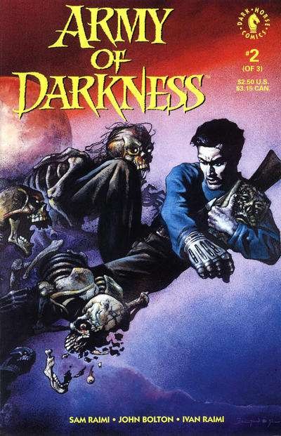 Army of Darkness #2 comic books - cover scans photos Army of Darkness #2 comic books - covers, picture gallery