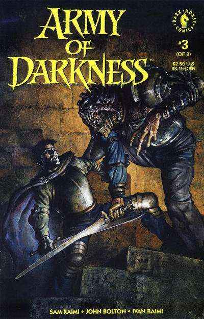 Army of Darkness #3 Comic Books - Covers, Scans, Photos  in Army of Darkness Comic Books - Covers, Scans, Gallery