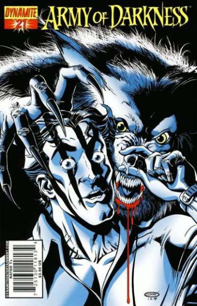Army of Darkness #21 Comic Books - Covers, Scans, Photos  in Army of Darkness Comic Books - Covers, Scans, Gallery