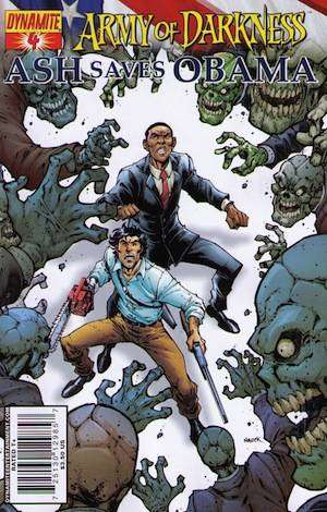 Army of Darkness: Ash Saves Obama #4 comic books for sale