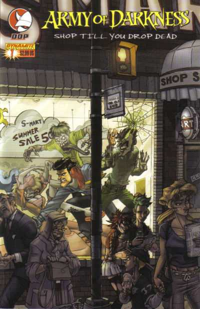 Army of Darkness: Shop Till You Drop Dead #1 comic books - cover scans photos Army of Darkness: Shop Till You Drop Dead #1 comic books - covers, picture gallery