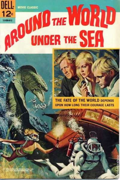 Around the World Under the Sea comic books