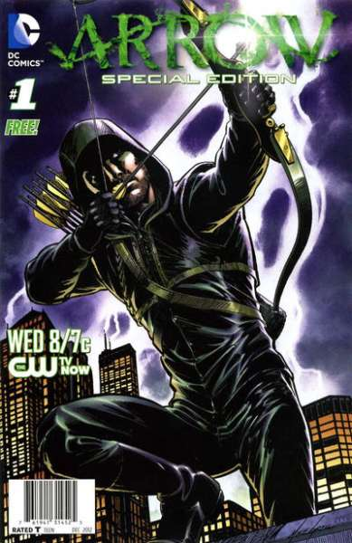 Arrow Special Edition comic books