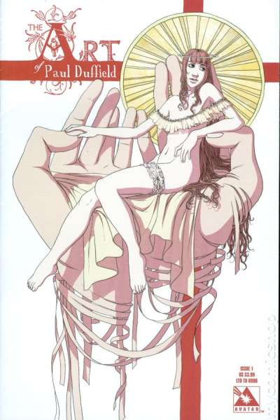 Art of Paul Duffield #1 comic books for sale