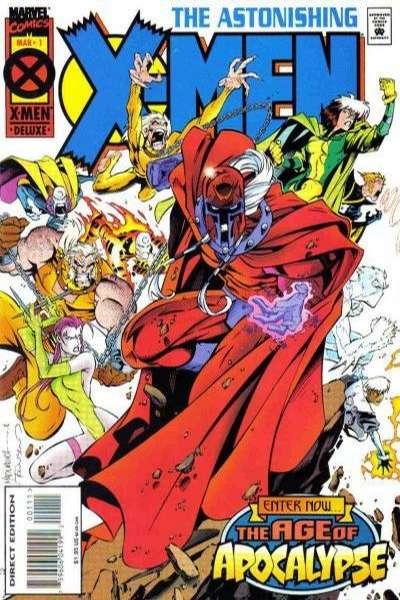 Astonishing X-Men comic books