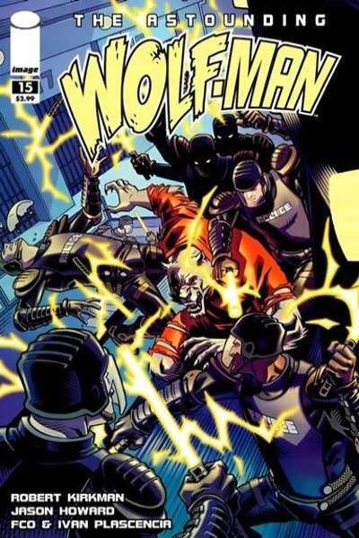 Astounding Wolf-Man #15 Comic Books - Covers, Scans, Photos  in Astounding Wolf-Man Comic Books - Covers, Scans, Gallery