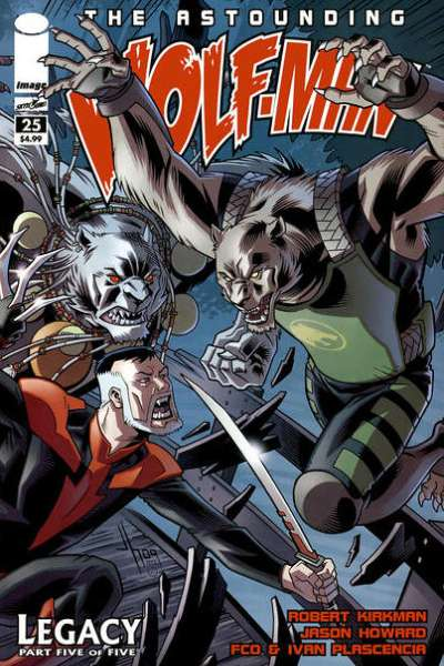 Astounding Wolf-Man #25 comic books for sale