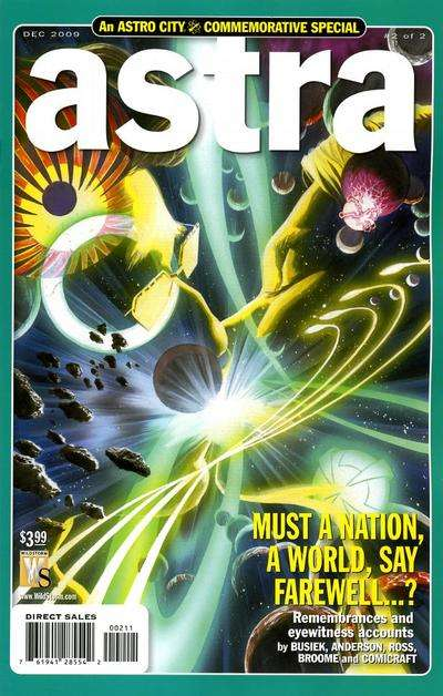 Astro City: Astra Special #2 comic books for sale