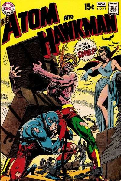 Atom & Hawkman #45 Comic Books - Covers, Scans, Photos  in Atom & Hawkman Comic Books - Covers, Scans, Gallery