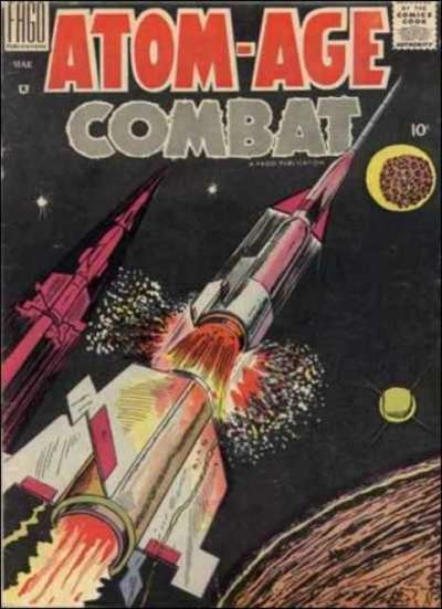 Atom-Age Combat #3 comic books for sale