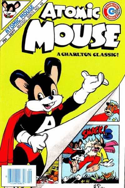 Atomic Mouse #10 Comic Books - Covers, Scans, Photos  in Atomic Mouse Comic Books - Covers, Scans, Gallery
