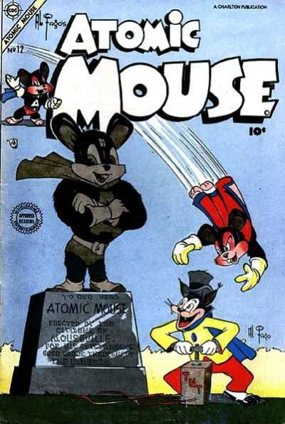 Atomic Mouse #12 Comic Books - Covers, Scans, Photos  in Atomic Mouse Comic Books - Covers, Scans, Gallery