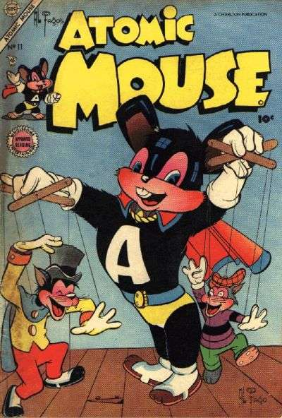 Atomic Mouse #11 Comic Books - Covers, Scans, Photos  in Atomic Mouse Comic Books - Covers, Scans, Gallery