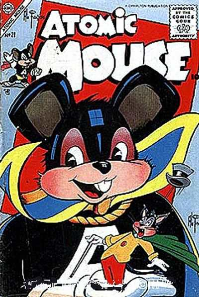 Atomic Mouse #21 Comic Books - Covers, Scans, Photos  in Atomic Mouse Comic Books - Covers, Scans, Gallery