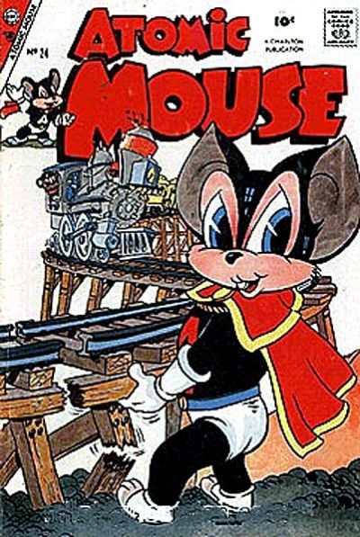 Atomic Mouse #24 Comic Books - Covers, Scans, Photos  in Atomic Mouse Comic Books - Covers, Scans, Gallery
