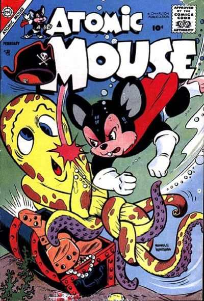 Atomic Mouse #25 Comic Books - Covers, Scans, Photos  in Atomic Mouse Comic Books - Covers, Scans, Gallery