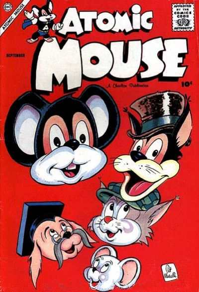 Atomic Mouse #27 Comic Books - Covers, Scans, Photos  in Atomic Mouse Comic Books - Covers, Scans, Gallery