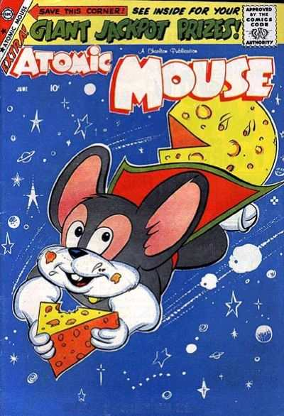 Atomic Mouse #31 Comic Books - Covers, Scans, Photos  in Atomic Mouse Comic Books - Covers, Scans, Gallery