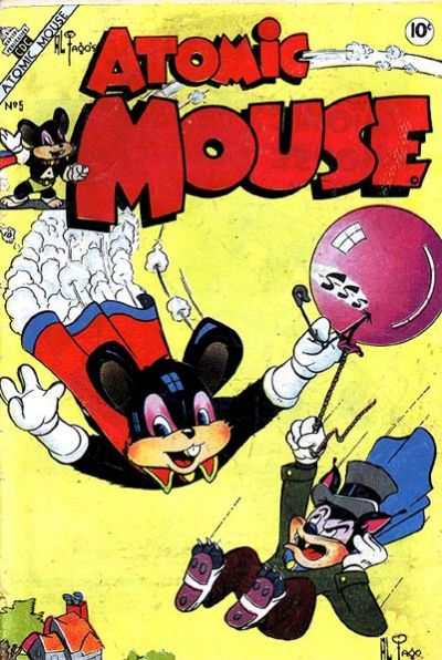 Atomic Mouse #5 Comic Books - Covers, Scans, Photos  in Atomic Mouse Comic Books - Covers, Scans, Gallery