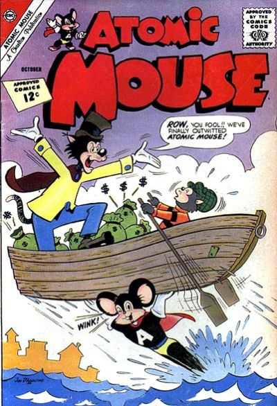 Atomic Mouse #50 Comic Books - Covers, Scans, Photos  in Atomic Mouse Comic Books - Covers, Scans, Gallery