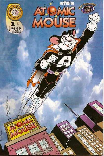 Atomic Mouse #1 Comic Books - Covers, Scans, Photos  in Atomic Mouse Comic Books - Covers, Scans, Gallery