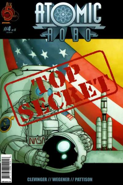 Atomic Robo #4 comic books for sale