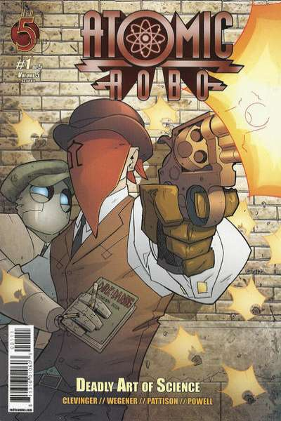 Atomic Robo and the Deadly Art of Science #1 Comic Books - Covers, Scans, Photos  in Atomic Robo and the Deadly Art of Science Comic Books - Covers, Scans, Gallery