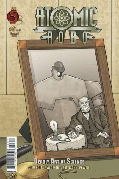 Atomic Robo and the Deadly Art of Science #3 Comic Books - Covers, Scans, Photos  in Atomic Robo and the Deadly Art of Science Comic Books - Covers, Scans, Gallery