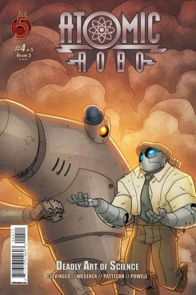 Atomic Robo and the Deadly Art of Science #4 Comic Books - Covers, Scans, Photos  in Atomic Robo and the Deadly Art of Science Comic Books - Covers, Scans, Gallery