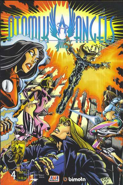 Atomik Angels #4 Comic Books - Covers, Scans, Photos  in Atomik Angels Comic Books - Covers, Scans, Gallery