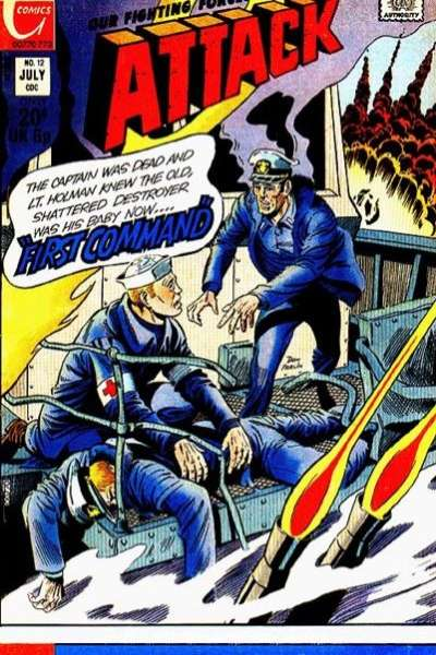 Attack #12 Comic Books - Covers, Scans, Photos  in Attack Comic Books - Covers, Scans, Gallery