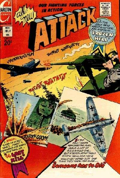 Attack #6 Comic Books - Covers, Scans, Photos  in Attack Comic Books - Covers, Scans, Gallery