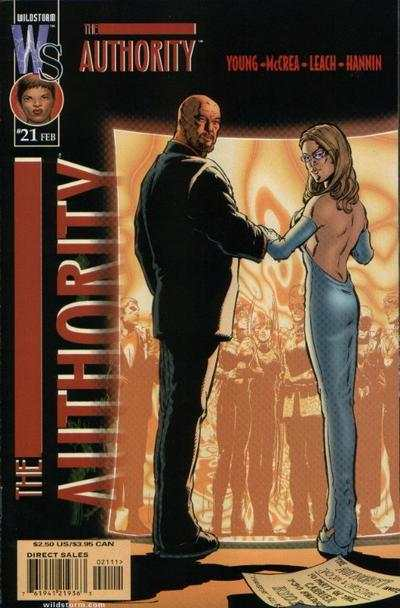 Authority #21 comic books for sale