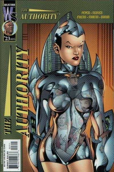 Authority #23 comic books - cover scans photos Authority #23 comic books - covers, picture gallery