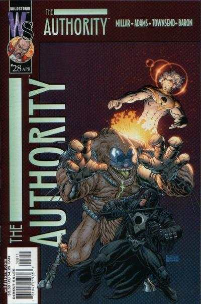 Authority #28 comic books - cover scans photos Authority #28 comic books - covers, picture gallery