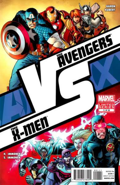 AvX vs. Comic Books. AvX vs. Comics.
